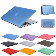"""US stock Rubberized Laptop Case Cover For Macbook Pro Air 11""""13"""" 15"""" Sleeve"""