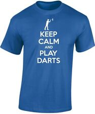 Keep Calm and Play FRECCETTE T-SHIRT UOMO 10 COLORI (S-3XL) da swagwear