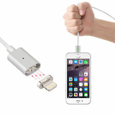 Magnetic Adapter Lightning USB Charging Charger Cable for  iPhone and Andro