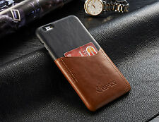 Slim Luxury PU Leather Back Case Card Slot Cover For Apple iPhone 7 6 6S Pl