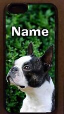 Personalized BOSTON TERRIER dog CELL PHONE CASE cel cover for smart mobile