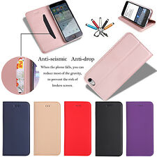 For Apple iPhone 7 7 Plus Magnetic Flip Leather Wallet Card Stand Cover Cas