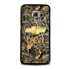 CAMO CHEVY Logo For Samsung Galaxy S3 S4 S5 S6 S7 Edge S8 Plus Note Phone C