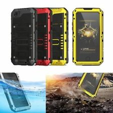 100% Luphie Shockproof Aluminum Metal Armor Case Cover For iPhone 6 6S 7 Pl