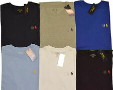 POLO RALPH LAUREN MENS NEW SHORT SLEEVE CREW NECK TOP T-SHIRTS S M L XL