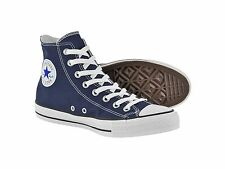 Converse All Star Hi Top Navy White Canvas Chuck Taylor M9622 100% Original