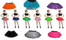 Neon UV Tutu Skirt Hen Night Party Fancy Dress  Dance Wear Clubbing Rave Funky