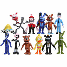 12/1pcs Cute Five Nights at Freddy's FNAF Action Figures Doll Games Toys Set