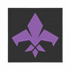 ES0135 GAME - COSPLAY - TV PATCH - AGENTS OF MAYHEM LOGO EMBROIDERED PATCH