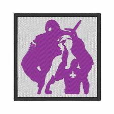 ES0136 GAME - COSPLAY - TV PATCH - AGENTS OF MAYHEM LOGO V2 EMBROIDERED PATCH