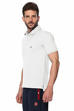 ONN Men's Casual Cotton Half Sleeves Polo T-Shirt (ONN_NC431_White)
