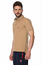 ONN Men's Casual Cotton Half Sleeves Polo T-Shirt (ONN_NC431_Camel)