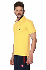 ONN Men's Casual Cotton Half Sleeves Polo T-Shirt (ONN_NC431_Lemon)