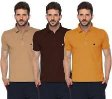 ONN Men's Casual Cotton Half Sleeves Polo T-Shirt (431_Camel-Coffee-Mustard_3)