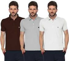 ONN Men's Casual Cotton Half Sleeves Polo T-Shirt (431_Coffee-GM-White_3)