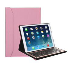 iPad Pro Bluetooth Wireless Keyboard PU Leather Aluminium with Stand Leather Cas
