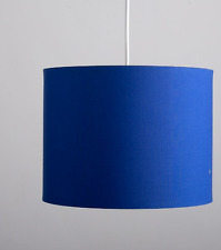 Cylinder Ceiling Pendant Table Lamp Drum Light Shade 20cm wide Various Colours