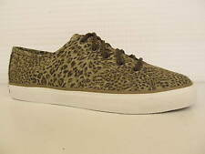 Sperry Top Sider Seacoast Cheetah Taupe Ladies Lace Up Trainer Shoe