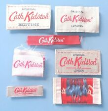 ** Original ** Cath Kidston Silk Sew on Labels Tags for craft art cards trim