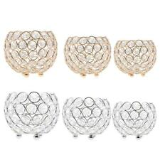 Various Crystal Votive Tealight Candle Holder Candlestick Wedding Party Decor