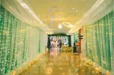 Various Sizes LED Indoor Outdoor Curtain Fairy Light String Xmas Diwali Party