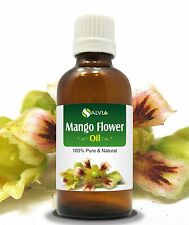 MANGO FLOWERS OIL 100% NATURAL PURE UNDILUTED UNCUT ESSENTIAL OIL 5ML TO 100ML