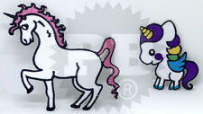 New Cute Unicorn Iron Sew on Embroidered Patches UK Seller