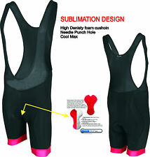 Bib Shorts Padded cycling Gel Bib Bicycle Cycle Bib shorts UK Size S~XXL DEKO