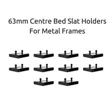 63mm Bed Slat Holders / Centre Caps Compatible with Metal Tubular Bed Bases