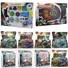 Beyblade Fusion Top Metal Fight Master 4D Rapidity Launcher Grip Set Toys Games