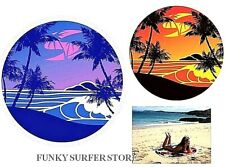 SOLA LARGE ROUND BEACH SWIMMING POOL HOLIDAY TRAVEL TOWELS PICNIC RUG BLANKET