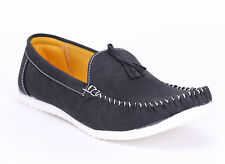 Quarks Men's Stylish Casual Loafer Shoes - Black  Color - Q1010BC