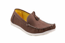 Quarks Men's Stylish Casual Loafer Shoes - Brown Color - Q1010BR