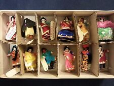 Lot of 12 Dolls Mini - Made India with Tags