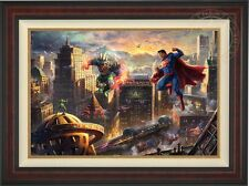 Thomas Kinkade Superman Man of Steel 24 x 36 Limited Edition G/P Canvas Framed