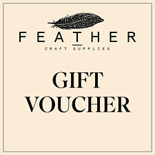 New Gift Vouchers - Wholesale Feathers & Craft Supplies