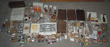 FRANKLIN MINT COUNTRY STORE DOLLHOUSE MINIATURES HUGE LOT GENERAL COUNTER 1/12