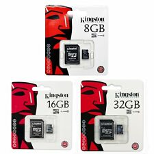 Kingston 8/16/32 GB MicroSD Micro SD SDC4 Class 4 TF Flash KARTE SPEICHERKARTE