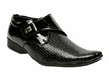 Vedano Patent Leather Formal Party Wear Slip On Monk Strap Shoes FORM017