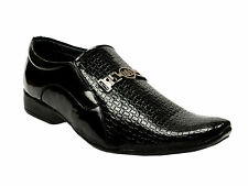 Vedano Italian Patent Leather Slip On Formal Party Wear Shoes FORM021