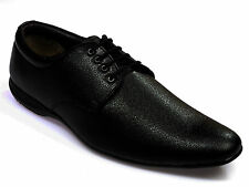 Vedano Black Leather Formal Shoes FORM004