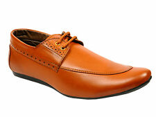 Vedano Tan Leather  Formal Party Wear Shoes FORM022