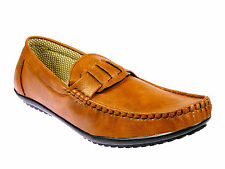 Vedano Classic Tan Slip On Stress Free Formal Shoes FORM014