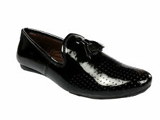 Vedano Patent Leather Formal Party Wear Slip On Mocassin Shoes FORM015