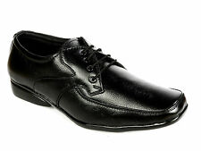Vedano Black Genuine Cow Leather Lace Up shoes FORM009