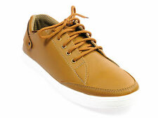 Vedano Brown Casual Leather Sneakers CASA017