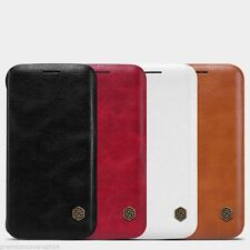 NILLKIN QIN Series Genuine Flip Wallet Leather Case For Samsung Galaxy S7