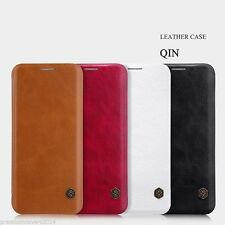 NILLKIN QIN Series Genuine Flip Wallet Leather Case For Samsung Galaxy S8