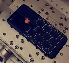 black edition limited iphone 6 plus 6s plus nutted golden silver sticker skin