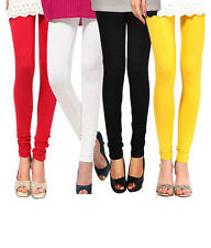 Leggings For Women Combo Pack Of 4 Cotton Leggings